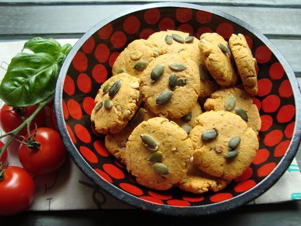 glutenvrije paprikarondjes