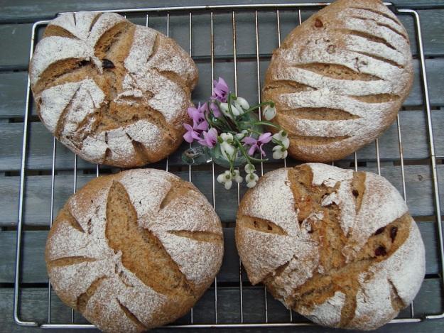 Romeins brood met rogge en tarwe